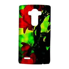 Red Roses and Bright Green 3 LG G4 Hardshell Case