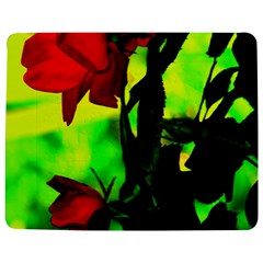 Red Roses and Bright Green 3 Jigsaw Puzzle Photo Stand (Rectangular)