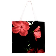 Mauve Roses 4 Grocery Light Tote Bag