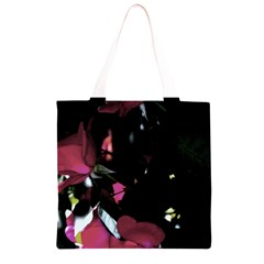 Mauve Pink Roses Grocery Light Tote Bag