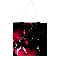 Pink Roses Grocery Light Tote Bag