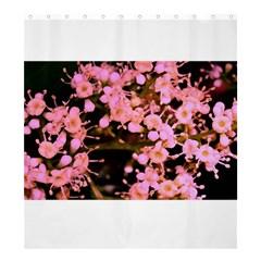 Little Mauve Flowers Shower Curtain 66  X 72  (large)