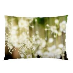 Little White Flowers Pillow Case