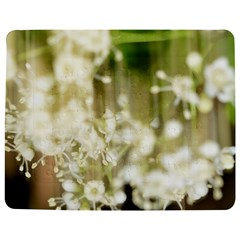 Little White Flowers Jigsaw Puzzle Photo Stand (Rectangular)