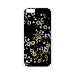 Little White Flowers 2 Apple Seamless iPhone 6/6S Case (Transparent)