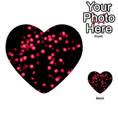 Little Pink Dots Multi Purpose Cards (heart)