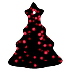 Little Pink Dots Ornament (christmas Tree)