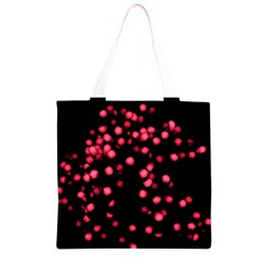 Little Pink Dots Grocery Light Tote Bag