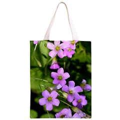 Little Purple Flowers Classic Light Tote Bag