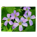 Little Purple Flowers 2 Cosmetic Bag (XXL)  Front