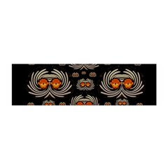 Seeds Decorative With Flowers Elegante Satin Scarf (Oblong)