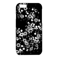 Little Black and White Flowers iPhone 6/6S TPU Case