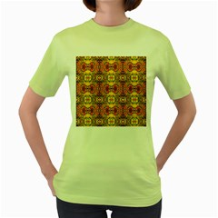 ROOF Women s Green T-Shirt