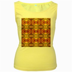 ROOF Women s Yellow Tank Top