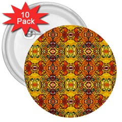 ROOF 3  Buttons (10 pack)