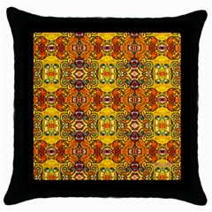 ROOF Throw Pillow Case (Black)