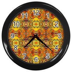 ROOF Wall Clocks (Black)