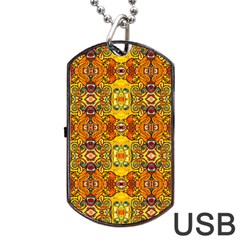 ROOF Dog Tag USB Flash (One Side)