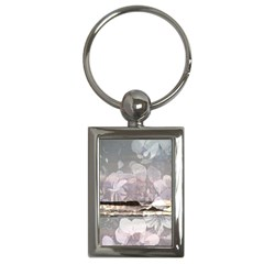 Greenocean Surf Orchids Charm (rectangle)