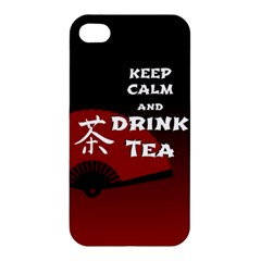 Keep Calm And Drink Tea - dark asia edition Apple iPhone 4/4S Hardshell Case