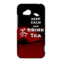 Keep Calm And Drink Tea - dark asia edition HTC Droid Incredible 4G LTE Hardshell Case