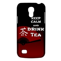 Keep Calm And Drink Tea - dark asia edition Galaxy S4 Mini