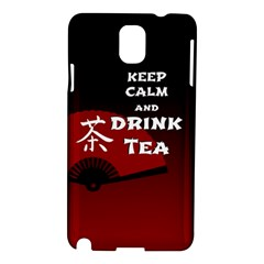 Keep Calm And Drink Tea   Dark Asia Edition Samsung Galaxy Note 3 N9005 Hardshell Case