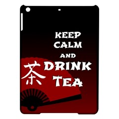 Keep Calm And Drink Tea - dark asia edition iPad Air Hardshell Cases