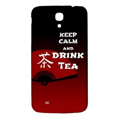 Keep Calm And Drink Tea   Dark Asia Edition Samsung Galaxy Mega I9200 Hardshell Back Case
