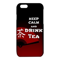 Keep Calm And Drink Tea - dark asia edition iPhone 6/6S TPU Case