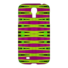 Bright Green Pink Geometric Samsung Galaxy S4 I9500/i9505 Hardshell Case