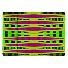 Bright Green Pink Geometric Samsung Galaxy Tab 10.1  P7500 Flip Case