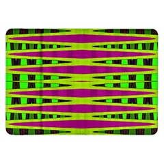 Bright Green Pink Geometric Samsung Galaxy Tab 8 9  P7300 Flip Case