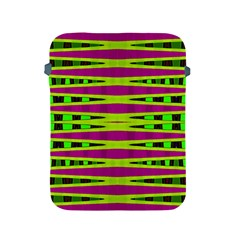 Bright Green Pink Geometric Apple Ipad 2/3/4 Protective Soft Cases
