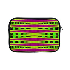 Bright Green Pink Geometric Apple Ipad Mini Zipper Cases