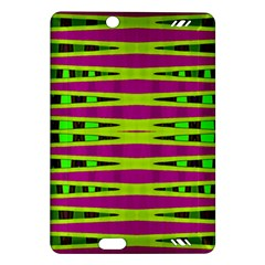 Bright Green Pink Geometric Kindle Fire Hd (2013) Hardshell Case