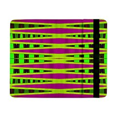 Bright Green Pink Geometric Samsung Galaxy Tab Pro 8 4  Flip Case