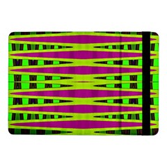 Bright Green Pink Geometric Samsung Galaxy Tab Pro 10 1  Flip Case