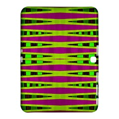 Bright Green Pink Geometric Samsung Galaxy Tab 4 (10.1 ) Hardshell Case