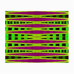Bright Green Pink Geometric Small Glasses Cloth (2 Side)