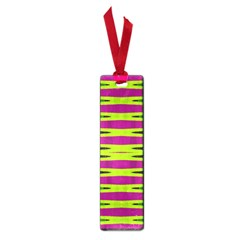 Bright Green Pink Geometric Small Book Marks