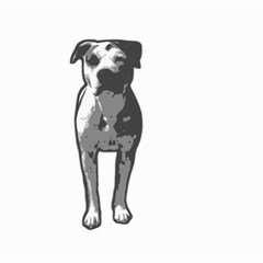 Pit Bull T Bone Graphic  Small Garden Flag (two Sides)