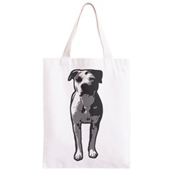 Pit Bull T Bone Graphic  Classic Light Tote Bag