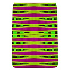 Bright Green Pink Geometric Flap Covers (s)