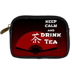 Keep Calm And Drink Tea - dark asia edition Digital Camera Cases