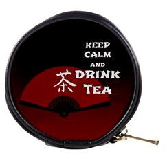 Keep Calm And Drink Tea - dark asia edition Mini Makeup Bags