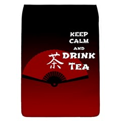 Keep Calm And Drink Tea   Dark Asia Edition Flap Covers (l)