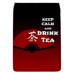 Keep Calm And Drink Tea - dark asia edition Flap Covers (S)
