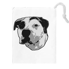 Pit Bull T Bone Graphic  Drawstring Pouches (xxl)