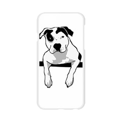 Pit Bull T Bone Graphic  Apple Seamless iPhone 6/6S Case (Transparent)